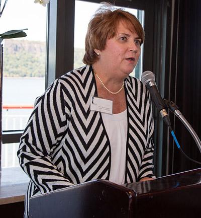 Director of Development Anne Marie Gardiner welcomed guests.