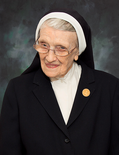 Sr. Mary Margaret McGovern, Sister of Charity of New York. RIP Jan. 8, 2018