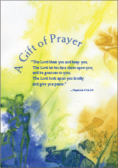 Gift of Prayer Card