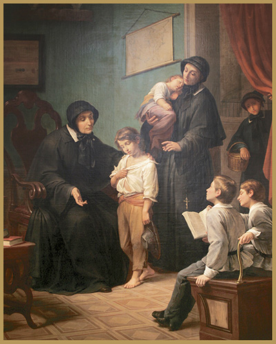The Sister of Charity by Pietro Gagliardi
