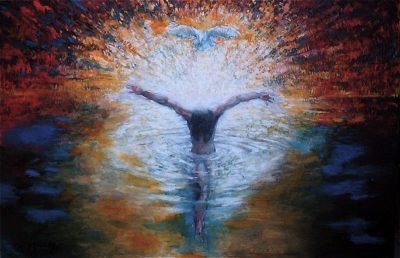 Baptism of the Christ by Daniel Bonnell