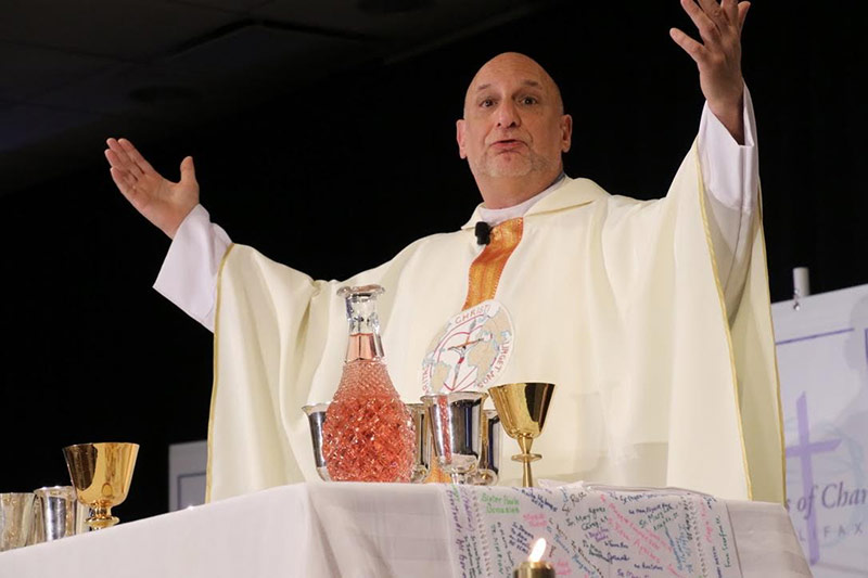 Father Joe Agostino, CM, international coordinator of the Vincentian Family Office in Philadelphia, presided at the Sunday Mass