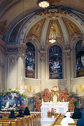 Chapel at St. Vincent Hospital, NYC