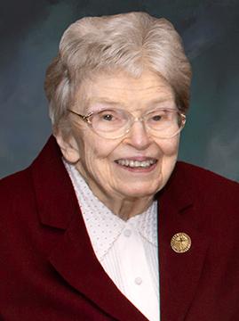 Sister Marion Hunt, SC