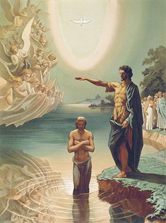Baptism of Christ, Grigory Gagarin, c. 1840–1850
